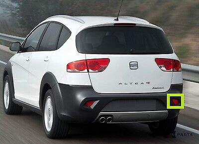 New Genuine Seat Altea Freetrack 07-16 Rear Bumper Right Reflector 5P8945106A