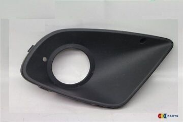 New Genuine Seat Altea Freetrack 07-16 Front O/s Right Fog Light Grill Black