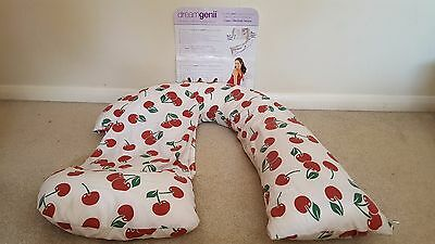 Dream Geneii Pregnancy Support and Feeding Pillow with spare pillow case