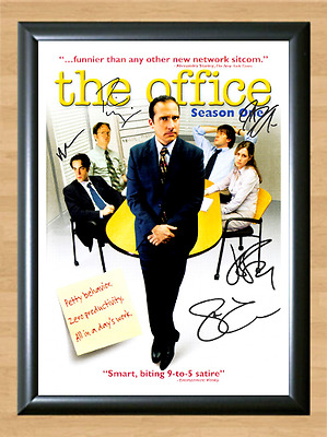 The Office US Cast Steve Carell Signed Autographed A4 Photo Poster Memorabilia