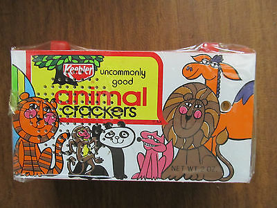 1974 Keebler Advertising Animal Crackers Transistor Radio, New in Package
