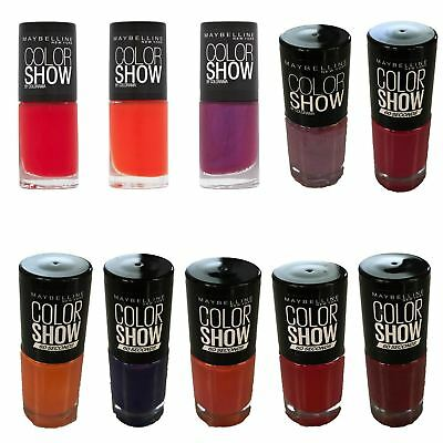 Maybelline New York Color Show Nail Polish / Nail Varnish