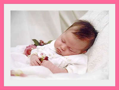 252 PINK AND WHITE SATIN REBORN/BABY AUCTION TEMPLATE 4 prof listings
