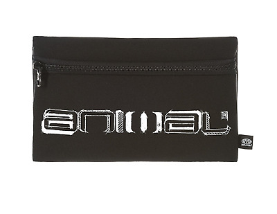 "Animal ""kels"" Neoprene Pencil Case. Black (He7Wl001-002)"