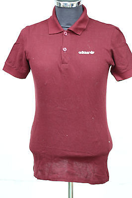 RARE POLO ADIDAS MADE IN WEST GERMANY VINTAGE 70'S maglia t-shirt SIZE XS  1058