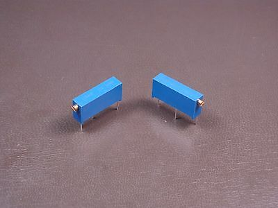 "Lot of 2 3009Y-1-204LF Bourns 3/4"" Trimpot Trimming Potentiometer 200k Ohm 10%"