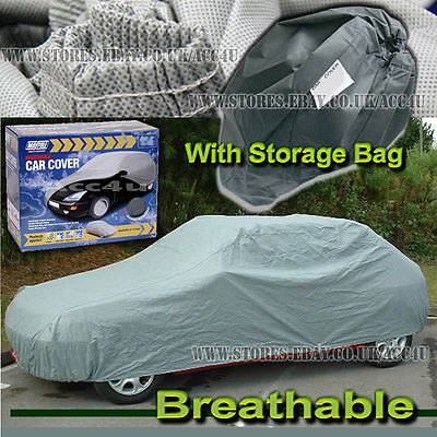 Maypole MP9871 Large Breathable Water Resistant Fabric Car Full Cover UpTo 16ft