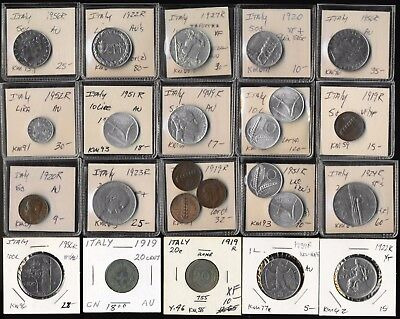 108 Italy Old Coins (Retired Dealer Inventory) Collectible Jackpot > No Reserve