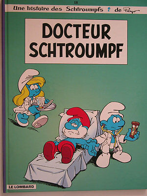 Schtroumpfs  ** Tome 18 Docteur Schtroumpf  ** Neuf Maury/culliford