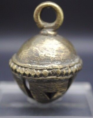 Post Medieval Near Eastern Decorated Brass Bell 17Th - 18Th Century Ad