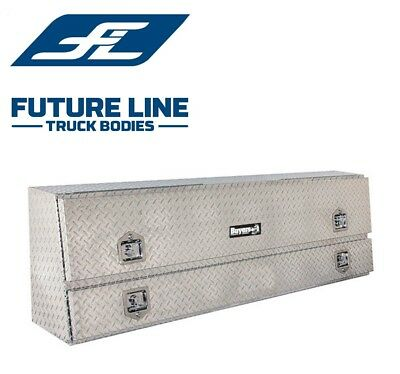 "Buyers Products 1705650, Aluminum Contractor Toolbox, 21"" H x 13.5"" D x 88"" W"
