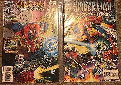 Spider-Man The Power Of Terror 1 And 4