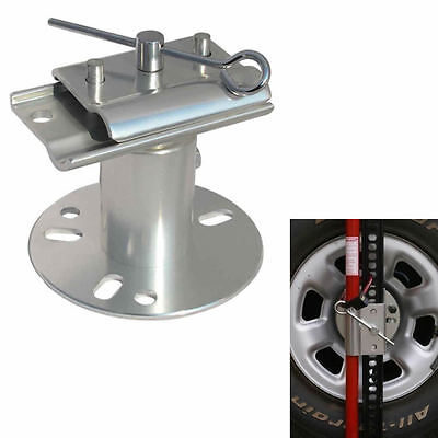 Spare Wheel Mount Bracket Carrier for Hi Lift High Farm Jack Recovery 4x4 4WD