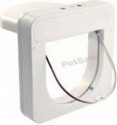Smartflap Petporte Smart Microchip Activated Cat Flap - Home Security   White