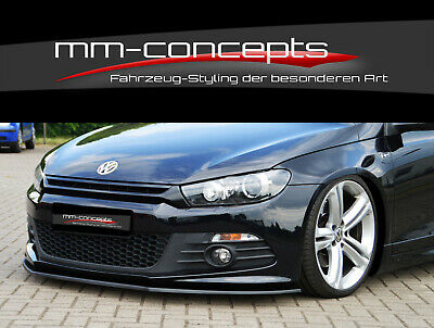 CUP Spoilerlippe für VW Scirocco 3 R Line Typ 13 Bj. 09-14 Front Spoiler IN