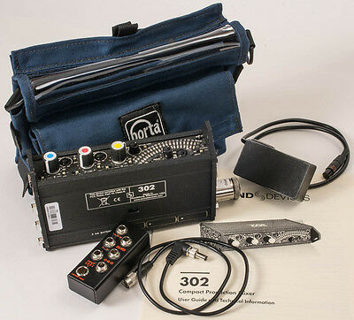 Sound Devices 302 Portable 3 Channel Field Mixer kit.