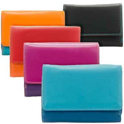 Leather Medium Purse/Tri-Fold Wallet 221 - MyWalit - Various Colours Available