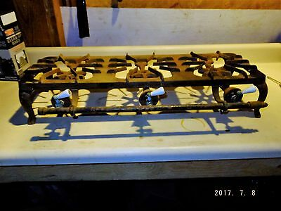 Vintage Cast Iron GRISWOLD 203 3 Burner Counter Top Cook Stove