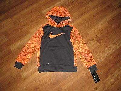 NWT NIKE therma fit hoodie jacket 6 new  $38  boys dri fit