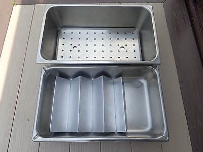 """2~VOLLRATH Stainless Steam Table Pan 20-3/4""""x12-3/4""""x 6""""+Super Pan 21""""x12.5"""""""
