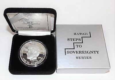 Royal Hawaiian Mint 1994 Apology Dala 1 Troy Oz 999 Fine Silver *LOWMINTAGE*