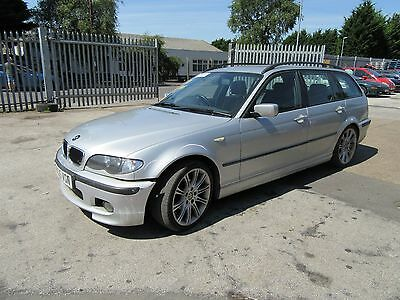 BMW E46  M Sport Touring Side Skirts LEFT AND RIGHT / TITAN SILVER