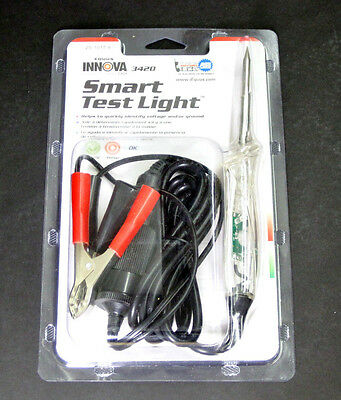 Smart Test Light check voltage tester ground test leads motorcycles autos