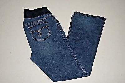 Motherhood Maternity Jeans under belly panel size Large boot cut