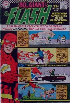 The Flash #160 (1966) 80pg Giant G21