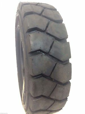 8.25-15 FORKLIFT TIRE With Tube, Flap Grip Plus Heavy Duty 825-15