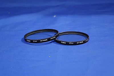 LOT of Canon 67MM Lens Filters #L1879BP