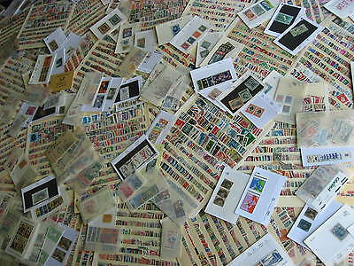 Stamp explosion! Boxlot full of worldwide stamps, a great search box here!