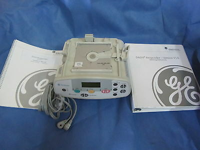 GE Dash Responder w/Operator/ Service manuals/ Lead Cables, Excellent condition!