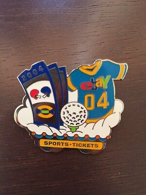 eBay Live! 2004 New Orleans Sports Tickets Trading Pin 100% for charity
