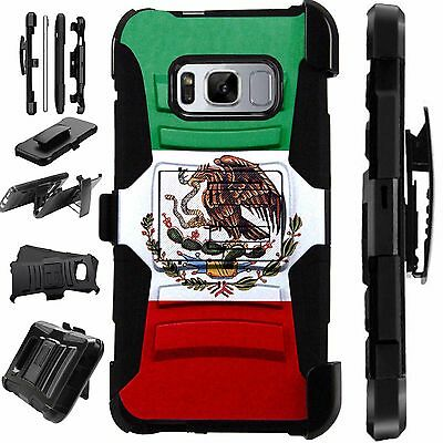 For Samsung Rugged Cover Holster Hybrid Armor Case MEXICAN EAGLE LuxGuard