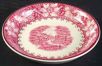 Wood & Sons COLONIAL PINK Coaster 6565139