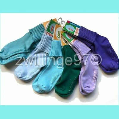 NWT GYMBOREE 6 PAIRS NON SKID SLIP SOCKS 2 to 3 yrs, shoe size 5-8 US VINTAGE