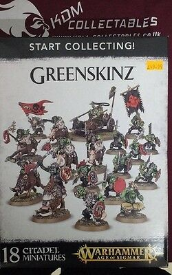 Warhammer AOS Start Collecting: Greenskinz - BNIB - Free White Dwarf