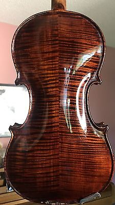 Rare American Violin - Woods from colonial furniture and buildings. Great Tone!