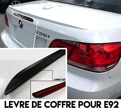 BOOT LIP SPOILER REAR TRUNK for BMW E92 E93 3 SERIES COUPE CONVERTIBLE 2006-2013