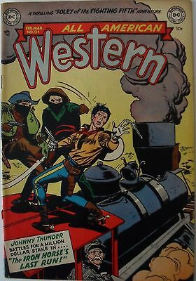 All American Western #124 (1952) with Johnny Thunder!