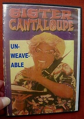2002 UN-WEAVE-ABLE Sister Cantaloupe DVD TRINA VOND'RAY JEFFRIES