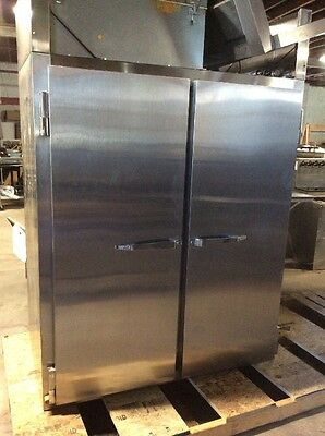 Used Mccall Model 1045-Hp Two Door Roll Through Heated Proofer Proofing Cabinet