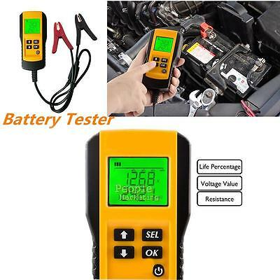 LCD Digital Display 12V Auto Car Electronic Automotive Analyzer Battery Tester