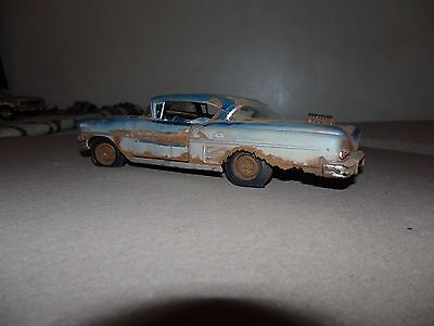 1958 Chevrolet Impala No Engine 1/24Th Scale Rusted Diorama 57 Scta Ncrs Nhra