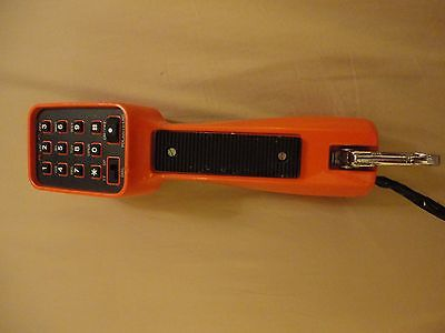 Telephone Lineman Test Phone Handset  good condition.  Working TT or Pulse