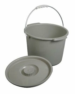 Commode Pail With Lid 1 Count *NEW SHIPS FREE!*
