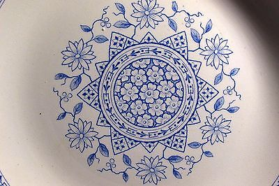 1884 Furnival Aesthetic Blue Transferware Morocco Cup , Bowls, Plates on Choice