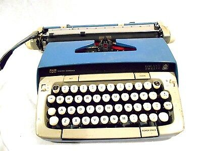 Smith Corona Galaxy Twelve XII manual typewriter