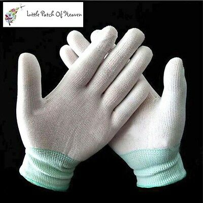 Nylon Quilting Gloves For Free Motion Machine Quilting Work / Sewing / Quilting